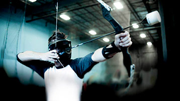 archery tag wageningen blaauwe arena