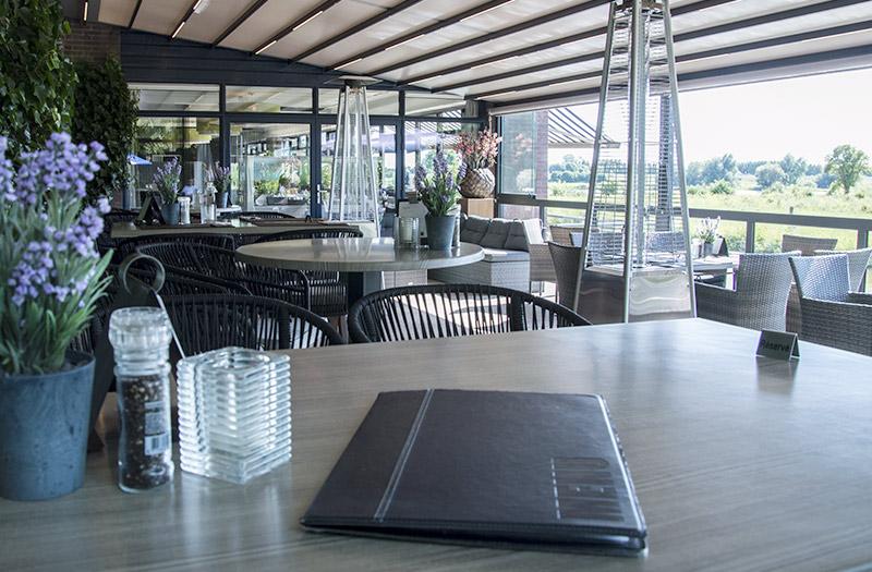 De blaauwe kamer panorama restaurant in wageningen